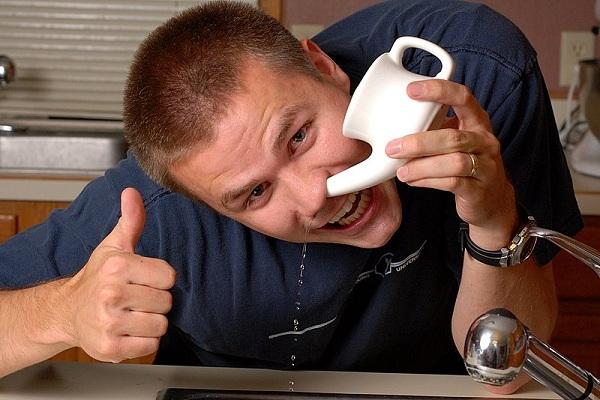 Промыть нос взрослому в домашних условиях