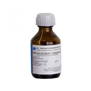 Люголя раствор с глицерином